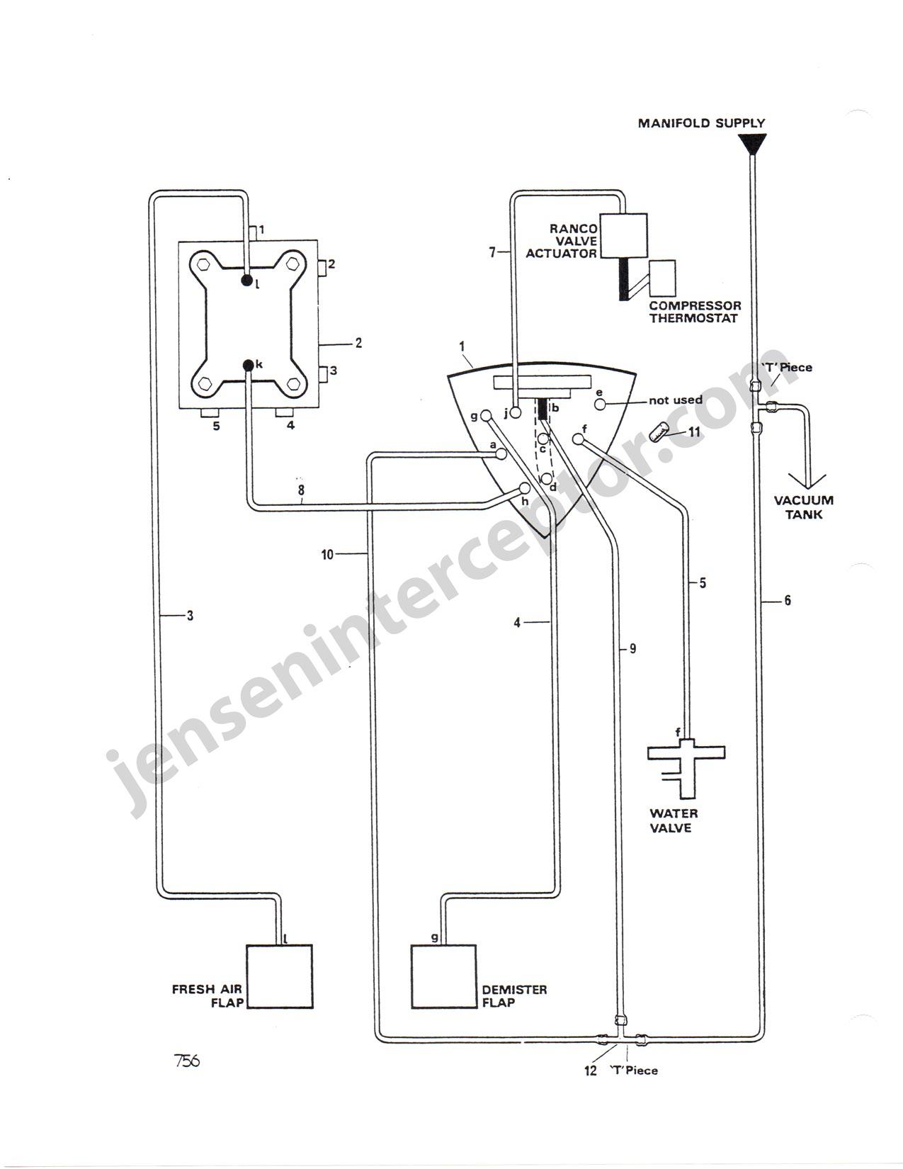 1974 Jensen Interceptor Wiring Diagram Electrical Diagrams For Vacuum Hose Iii